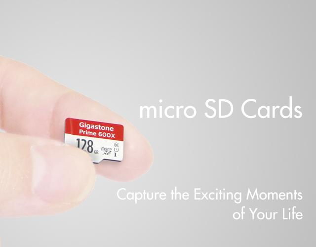 micro SD カード | Gigastone【ギガストーン】 - モバイルアイテムのグローバルブランド(SP)