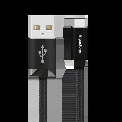 Type-C – USB-A 高耐久ケーブル