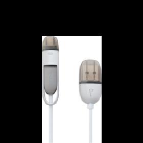 Lightningアダプタ付<br>Micro USB - USB-Aケーブル