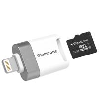 iPhone/iPad対応 microSD カードリーダー